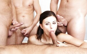 Naked Girls In Gangbang